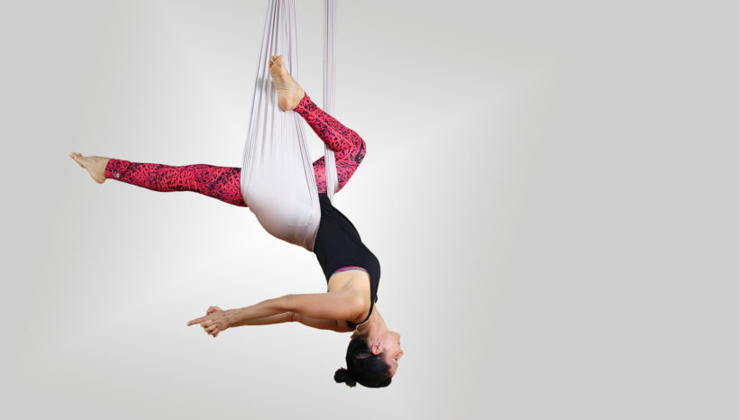 Aerial Flow Yoga Workshop am 26. Oktober 2019, 11.00 – 13.00 Uhr