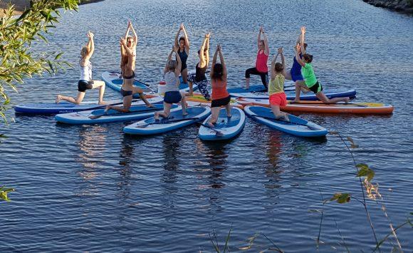 SUP-YogaWorkshops im Sommer 2018