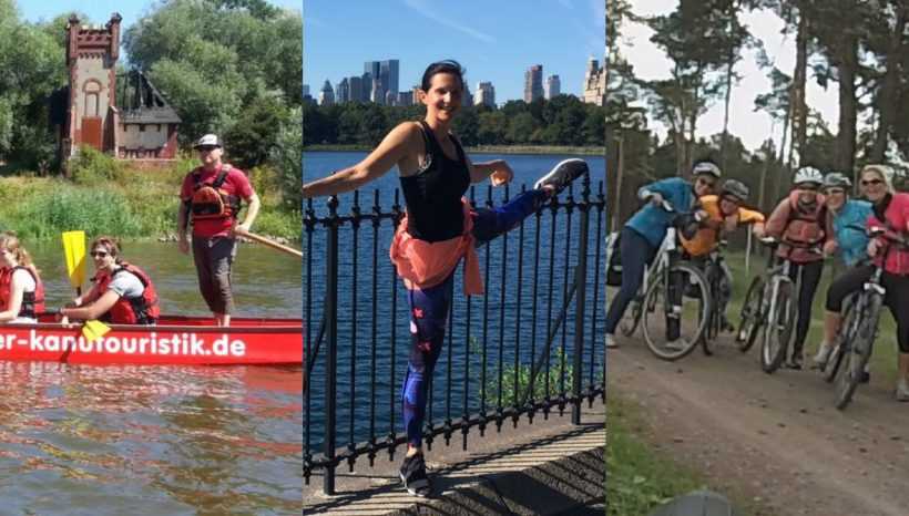 PaYoFa unser Triathlon: Paddeln, Yoga, Fahrrad !Neuer Termin! 8. August 2020, Start 10 Uhr